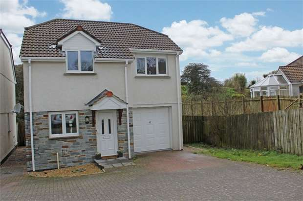 3 Bedrooms Detached House for sale in Hendra Prazey, St Dennis, St Austell, Cornwall