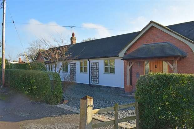 3 Bedrooms Detached Bungalow for sale in Marsh Lane, Edleston, Nantwich, Cheshire
