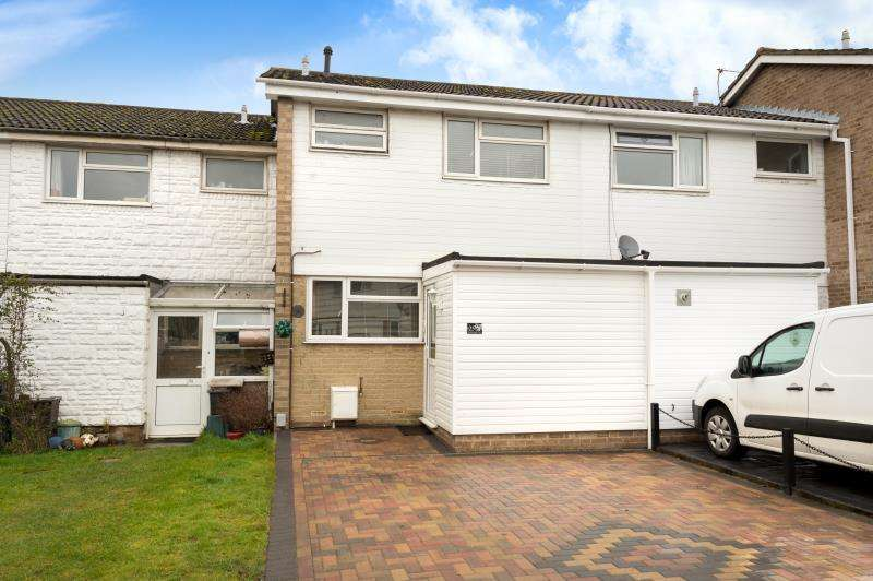 3 Bedrooms Terraced House for sale in Hanborough Close, Eynsham, Witney, Oxfordshire