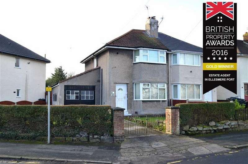 2 Bedrooms Semi Detached House for sale in Walkers Lane, Little Sutton, CH66