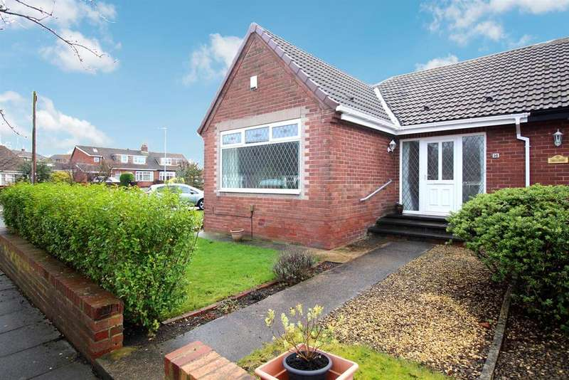 3 Bedrooms Semi Detached Bungalow for sale in Birch Avenue, Heworth, Gateshead