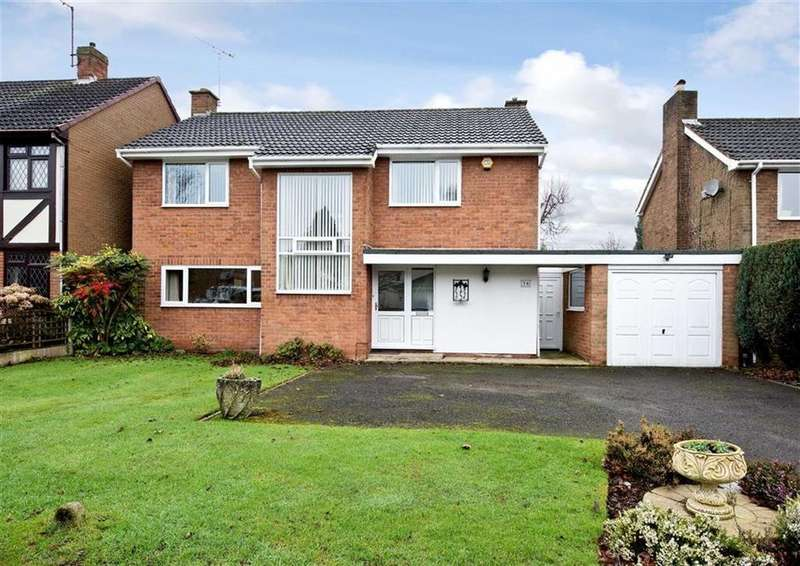 4 Bedrooms Detached House for sale in 16, Cranmere Avenue, Wergs, Wolverhampton, West Midlands, WV6