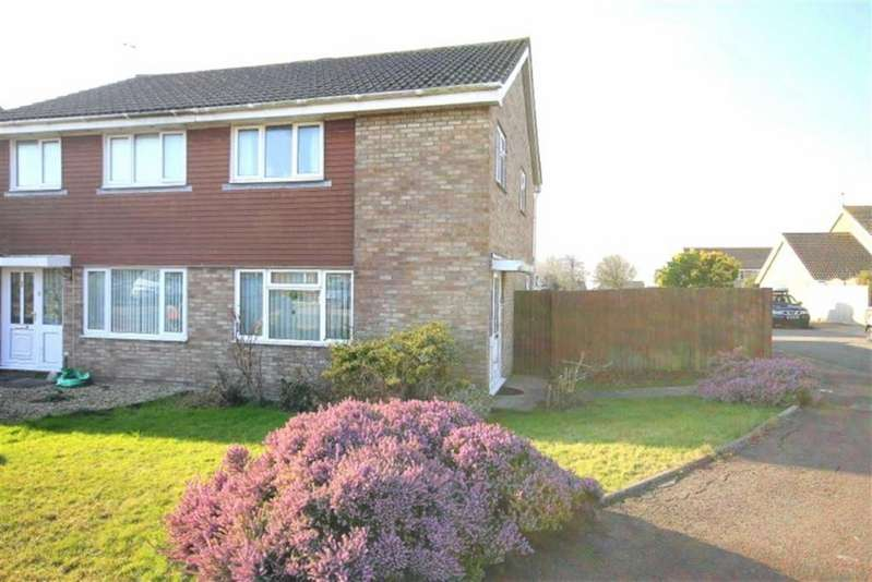 3 Bedrooms Semi Detached House for sale in Smeaton Close, Rhoose, Vale Of Glamorgan