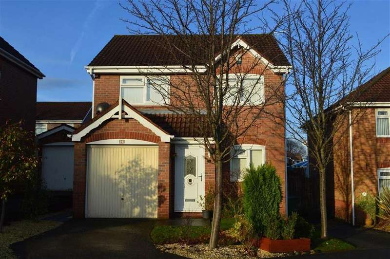 3 Bedrooms Detached House for sale in Wilfred Owen Drive, Claughton, CH41