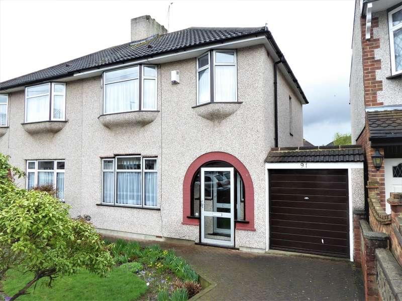 3 Bedrooms Semi Detached House for sale in Preston Drive, Bexleyheath, Kent, DA7 4UG