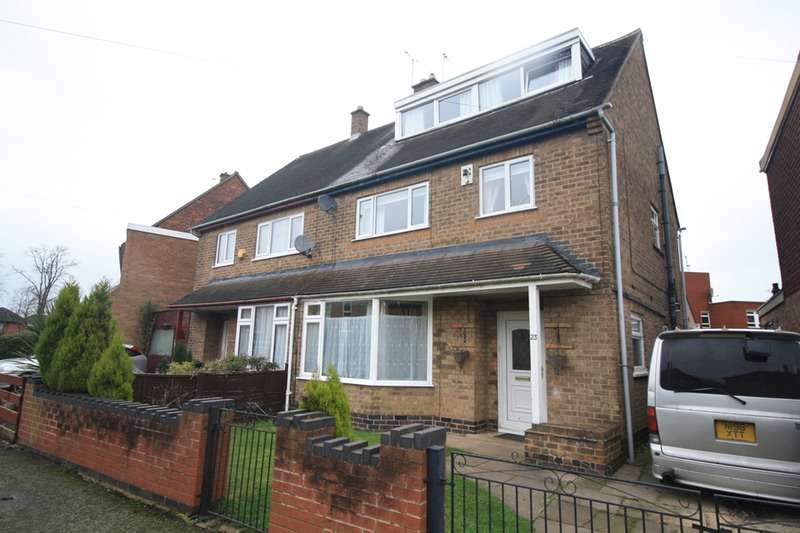 5 Bedrooms Semi Detached House for sale in Arnesby Crescent, Leicester, Leicestershire, LE2