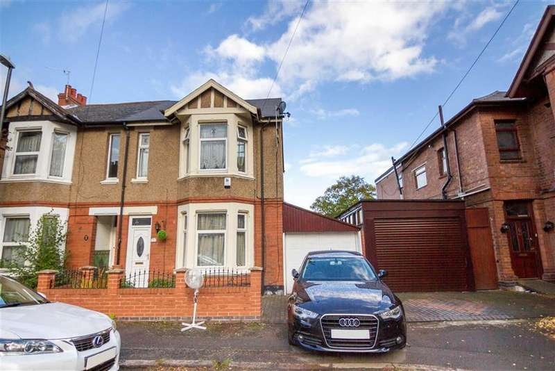 3 Bedrooms Semi Detached House for sale in St Osburgs Road, Stoke, Coventry, CV2