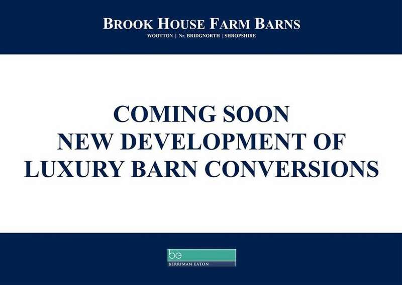 Barn Conversion Character Property for sale in Brook House Farm Barns, Wootton, Bridgnorth, Shropshire, WV15