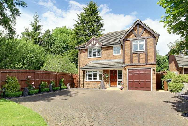 4 Bedrooms Detached House for sale in Anthorne Close, Potters Bar, Hertfordshire