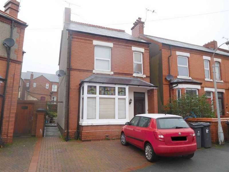 5 Bedrooms Detached House for sale in Jubilee Road, Wrexham