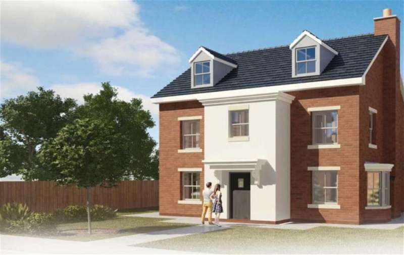 5 Bedrooms Detached House for sale in Plot 48, Gresford, Wrexham