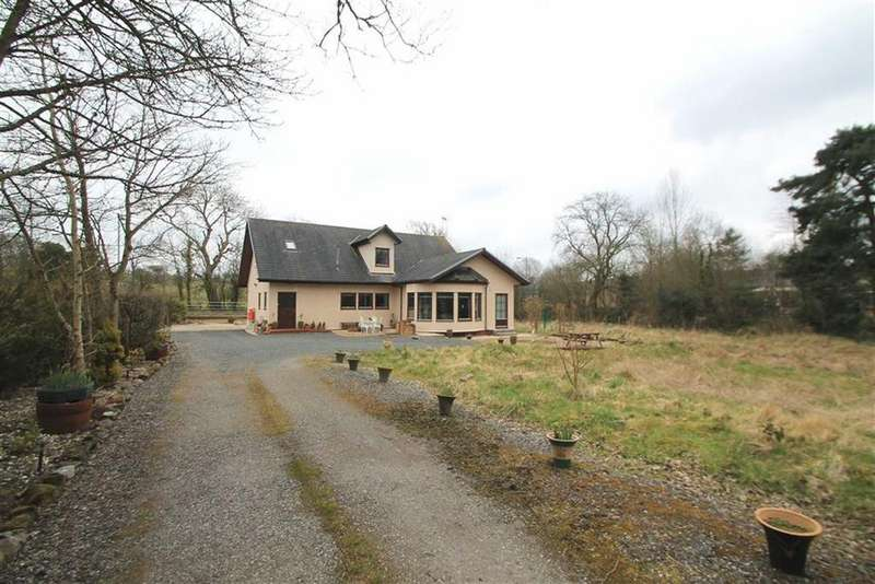 4 Bedrooms Detached Bungalow for sale in Corwen Road, Rhydtalog, Flintshire