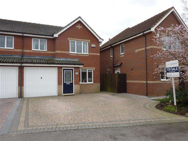 3 Bedrooms Semi Detached House for sale in BURLEY CLOSE, LACEBY PARK, LACEBY, GRIMSBY