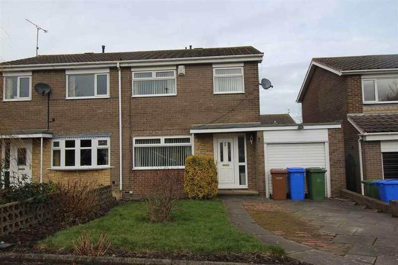 3 Bedrooms Semi Detached House for sale in Totnes Drive, Parkside Grange, Cramlington