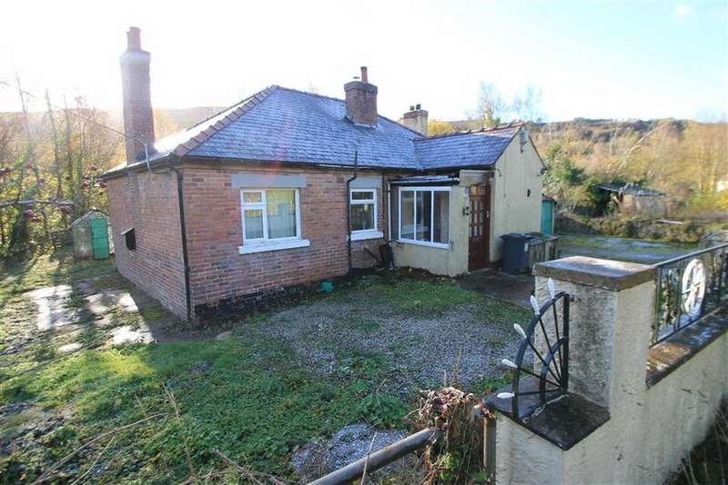 2 Bedrooms Detached Bungalow for sale in Maesyfynnon Road, Minera, Wrexham