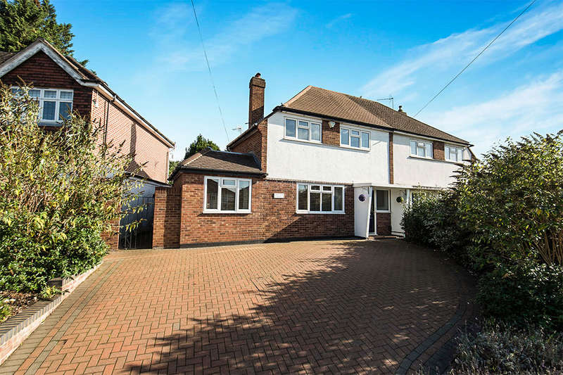 3 Bedrooms Semi Detached House for sale in Fleece Road, Long Ditton, Surbiton, KT6