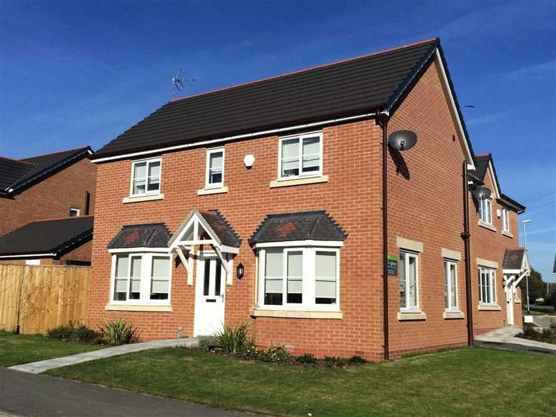 3 Bedrooms Detached House for sale in Chestnut Walks, Summerhill, Wrexham
