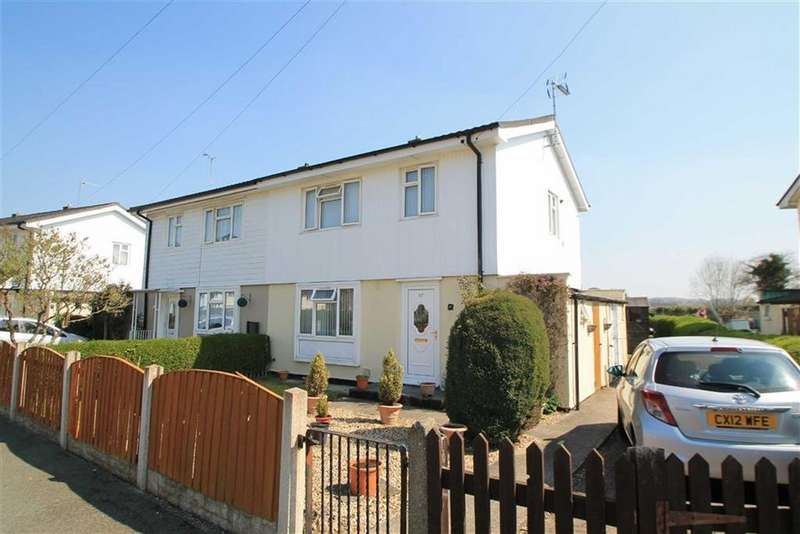 3 Bedrooms Semi Detached House for sale in Heol Abon, Cefn Mawr, Wrexham