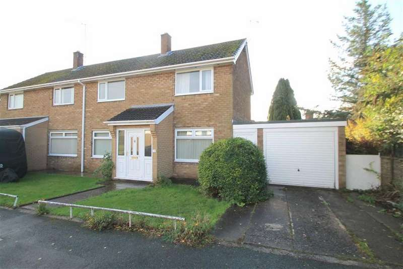 3 Bedrooms Semi Detached House for sale in Jarvis Way, Acton, Wrexham
