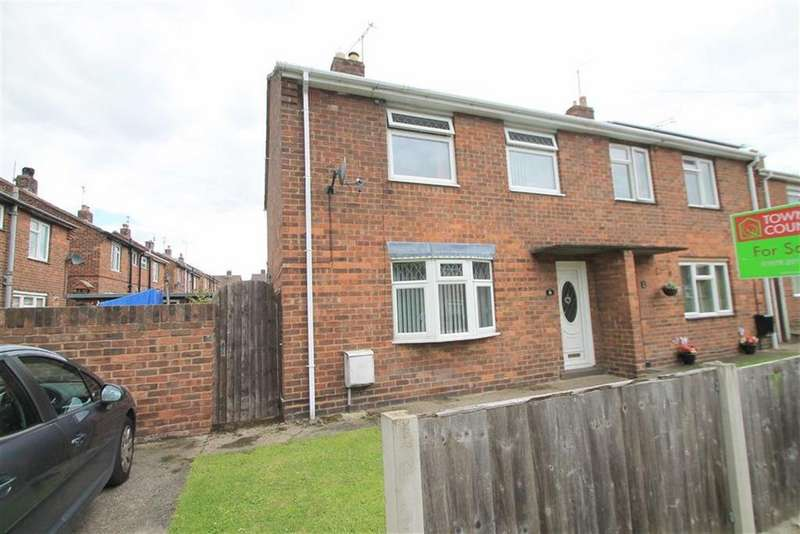 3 Bedrooms Semi Detached House for sale in Ash Grove, Wrexham