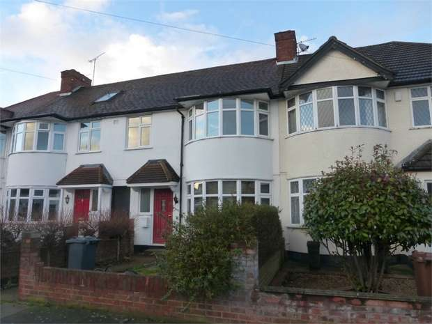3 Bedrooms Terraced House for sale in Sussex Avenue, Isleworth, Middlesex