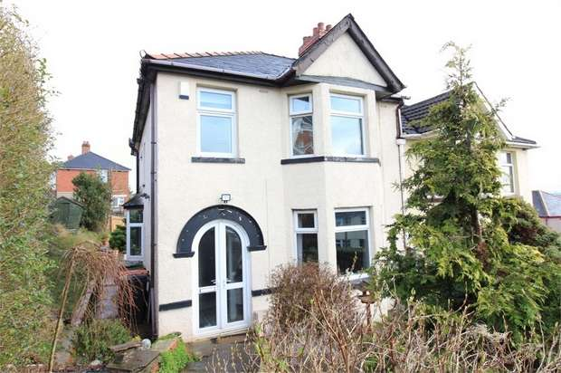 3 Bedrooms Semi Detached House for sale in Milton Road, NEWPORT