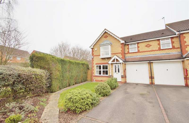3 Bedrooms End Of Terrace House for sale in Meadowsweet, Rugby