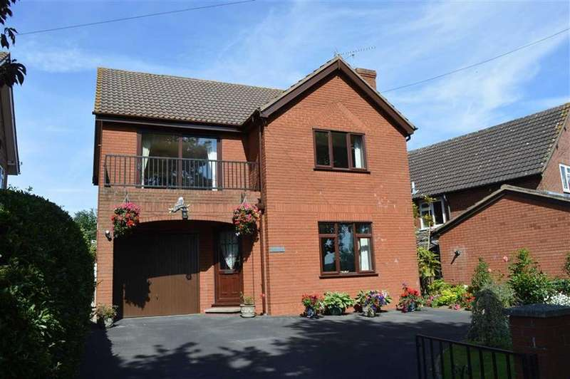 3 Bedrooms Detached House for sale in Fair View, Stockenhill Road, Stockenhill Road, Leominster, HR6