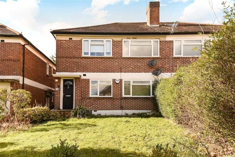 2 Bedrooms Maisonette Flat for sale in Meadway Gardens, Ruislip, Middlesex, HA4