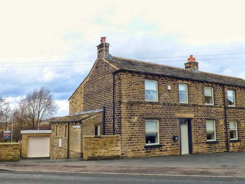 4 Bedrooms Semi Detached House for sale in New Mill Road, Wooldale, HOLMFIRTH, West Yorkshire, HD9