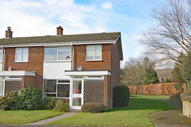 3 Bedrooms End Of Terrace House for sale in Rowans Park, Lymington SO41
