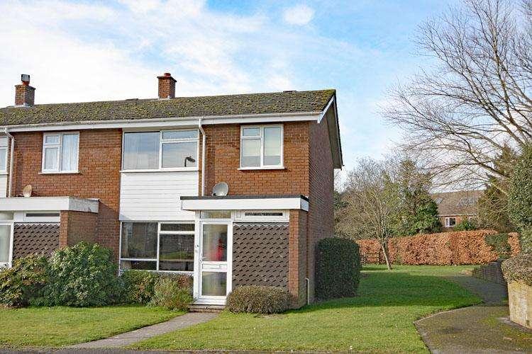3 Bedrooms End Of Terrace House for sale in Rowans Park, Lymington SO41