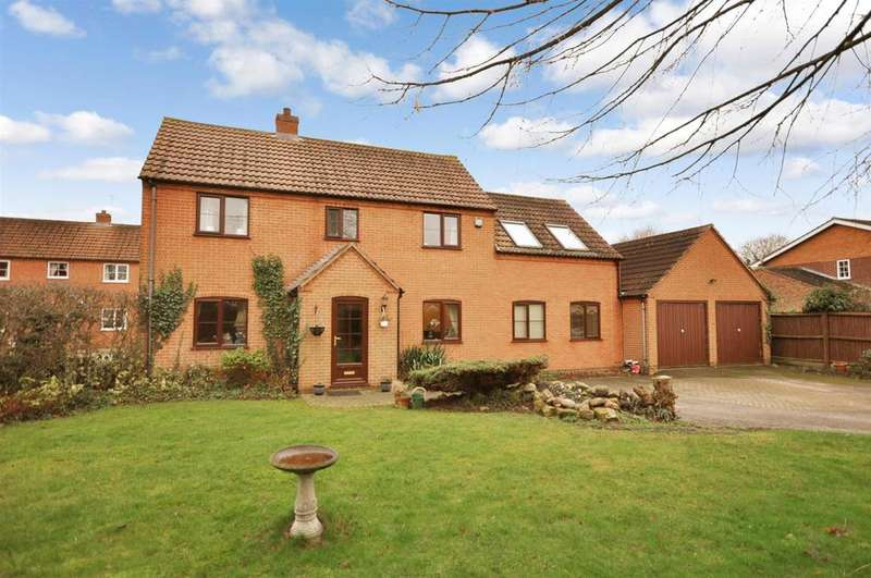 4 Bedrooms Detached House for sale in Alexandra Close, Long Bennington, Newark