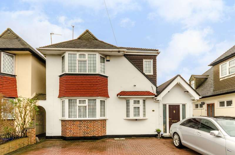 5 Bedrooms Detached House for sale in Portland Avenue, New Malden, KT3