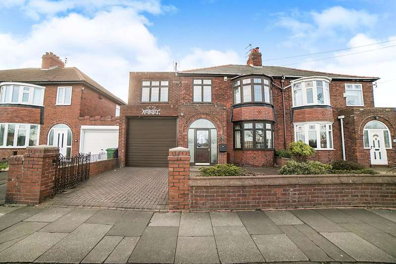 4 Bedrooms Semi Detached House for sale in Broadway, Blyth, NE24 2PR