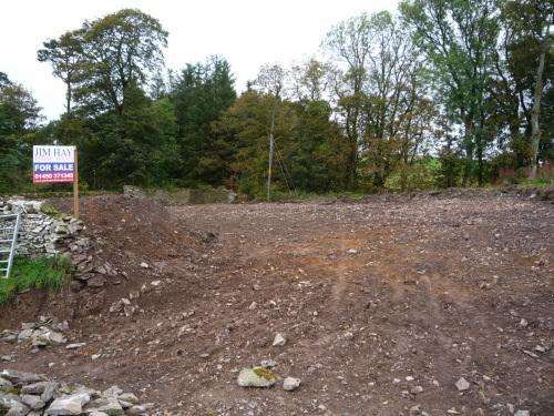 4 Bedrooms Detached House for sale in Building Plot, EarlsideHawick, TD9 9SE
