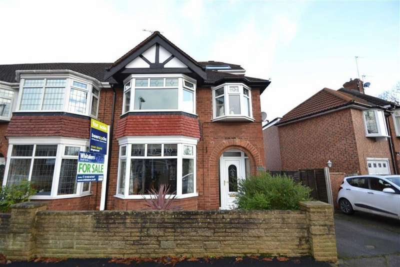 4 Bedrooms End Of Terrace House for sale in Chestnut Avenue, Willerby