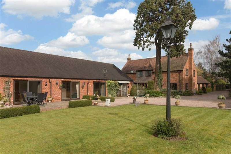 5 Bedrooms Barn Conversion Character Property for sale in Old Milverton, Leamington Spa