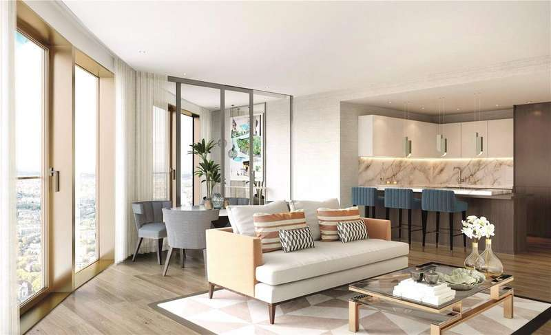 2 Bedrooms Apartment Flat for sale in Spire London, Hertsmere Road, E14
