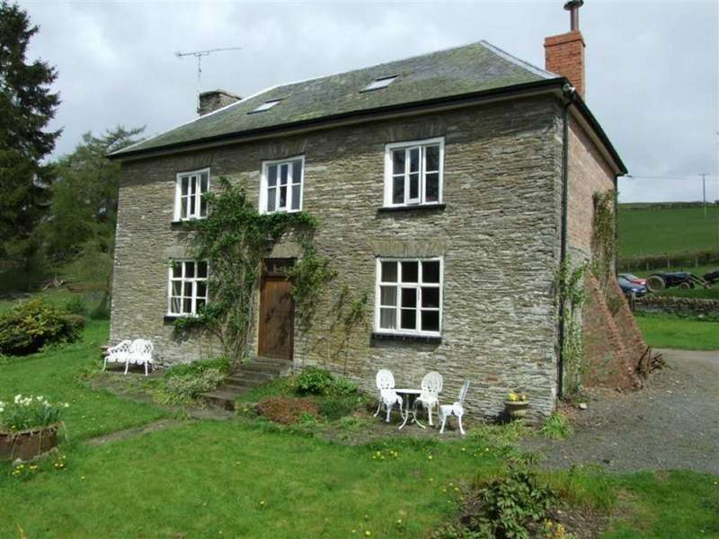 5 Bedrooms Detached House for sale in Llangunllo, Knighton