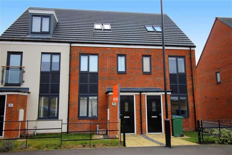 3 Bedrooms Town House for sale in Roseden Way, Newcastle Upon Tyne, NE13