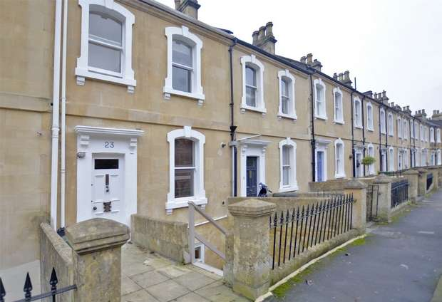 1 Bedroom Flat for sale in Garden Maisonette, 23a Belgrave Crescent, Bath