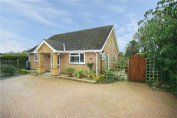 2 Bedrooms Detached Bungalow for sale in Melchbourne Road, Swineshead, Bedford