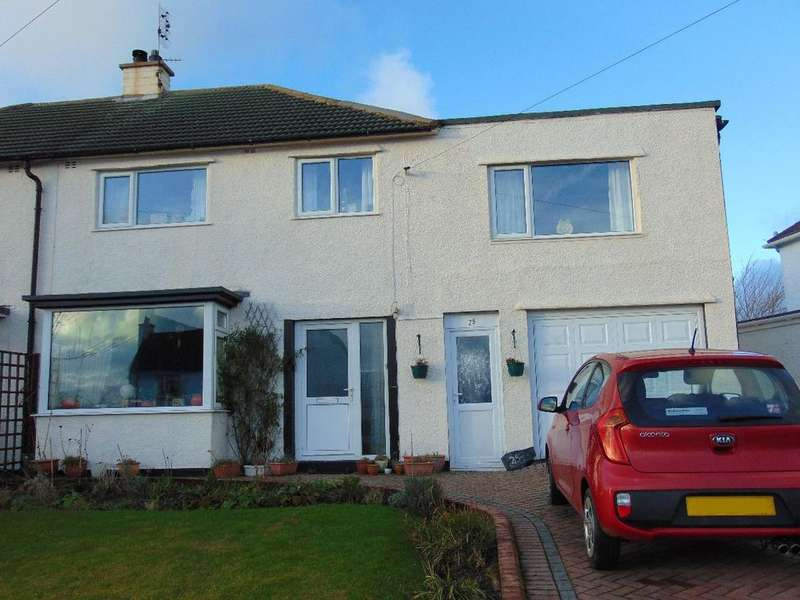 4 Bedrooms Semi Detached House for sale in 25 Parkside Avenue, Cockermouth, Cumbria, CA13 0DR