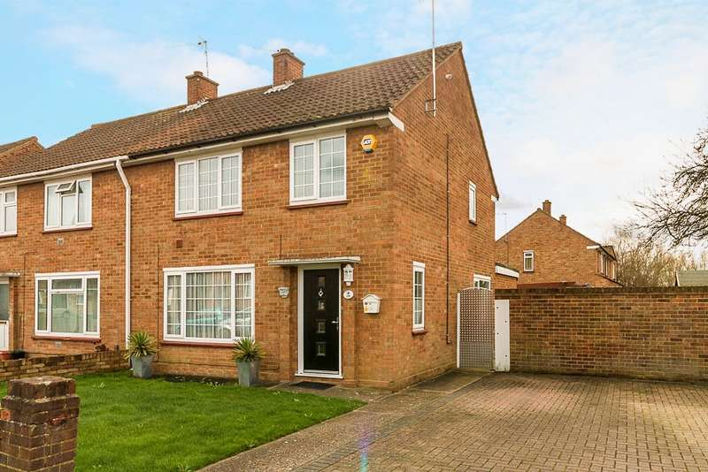 3 Bedrooms Semi Detached House for sale in The Gardens, Bedfont, TW14