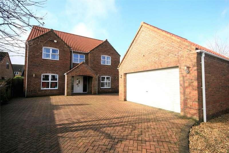 5 Bedrooms Detached House for sale in Poachers Meadow, Nettleham, LN2