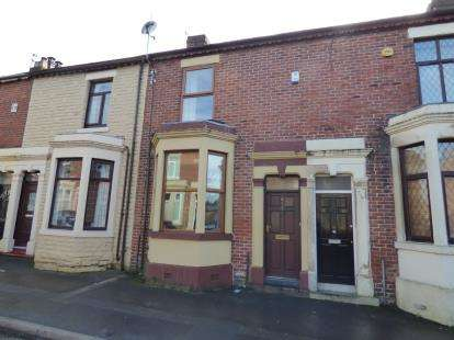 2 Bedrooms Terraced House for sale in Waterloo Terrace, Ashton-on-Ribble, Preston, Lancashire, PR2