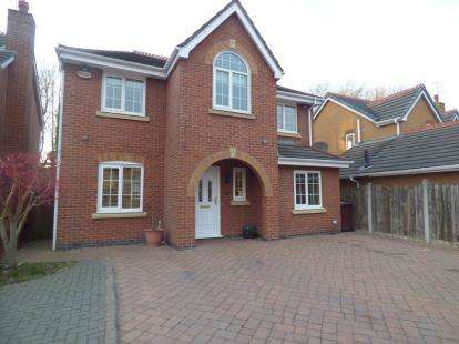 4 Bedrooms Detached House for sale in Smithford Walk, Tarbock Green, Prescot, Merseyside, L35