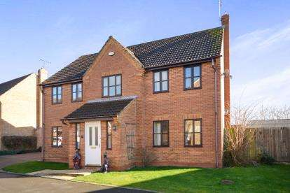 4 Bedrooms Detached House for sale in Ingamells Drive, Saxilby, Lincoln