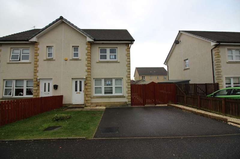 3 Bedrooms Semi Detached House for sale in Gilmour Wynd, Stevenston